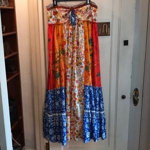 Free People strapless Dress